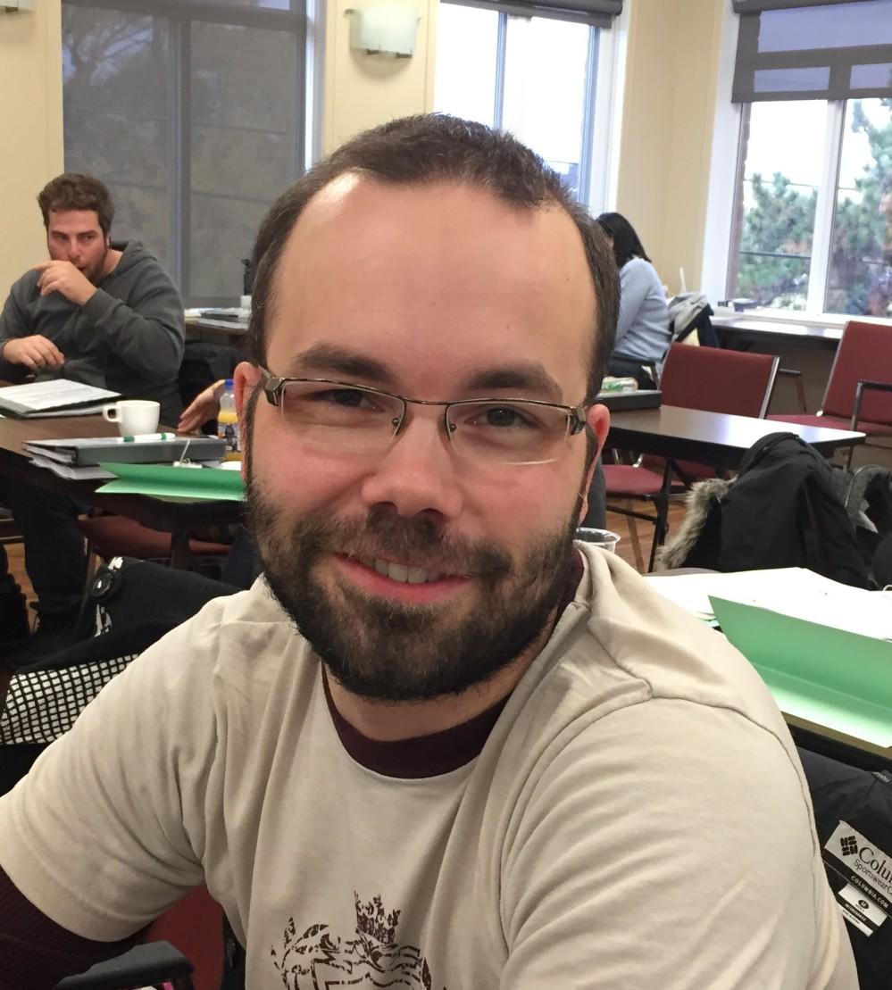 Steve Pinsonneault – enseignant à la formation générale desadultes